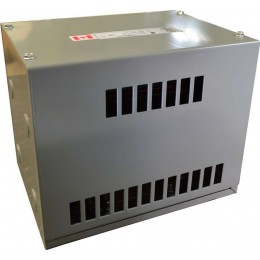 3 kVA 600 Volt to 460 Volt Three phase Autotransformer RC3J-H1