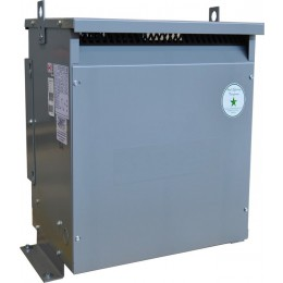 6 kVA 460 Volt to 480Y/277 Volt Three phase Isolation Transformer BC6H1-P