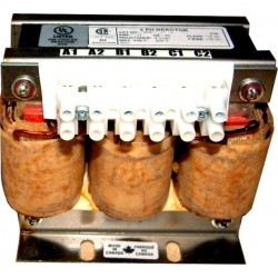 27 Amps 208-240 Volt Three phase Line Reactor 3PR-0027C5L