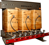 Dry type Transformer - open construction