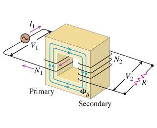 primary and secondary voltage